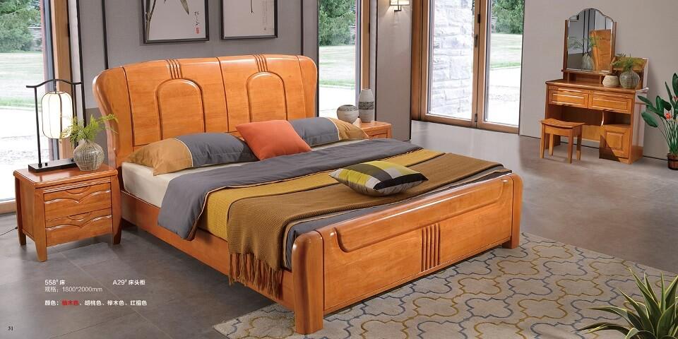 橡木中式卧室套房优德88官方网APP03