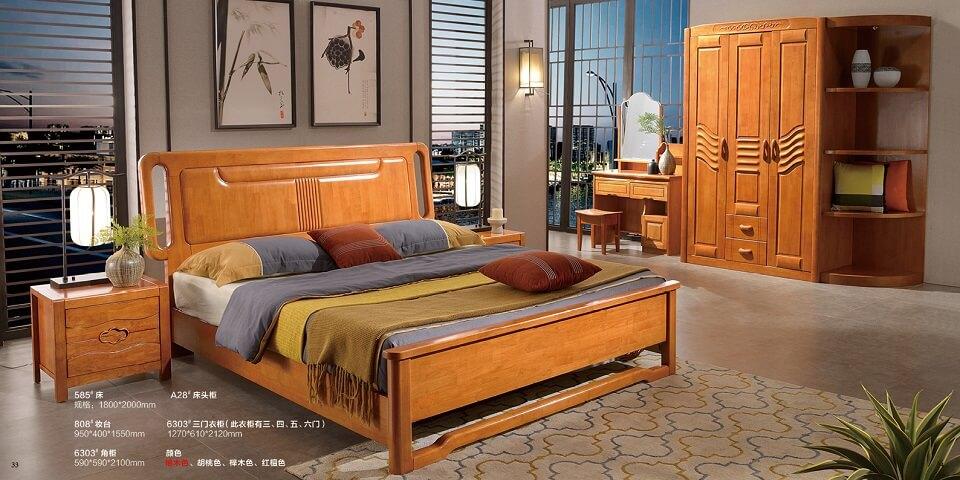 橡木中式卧室套房优德88官方网APP04