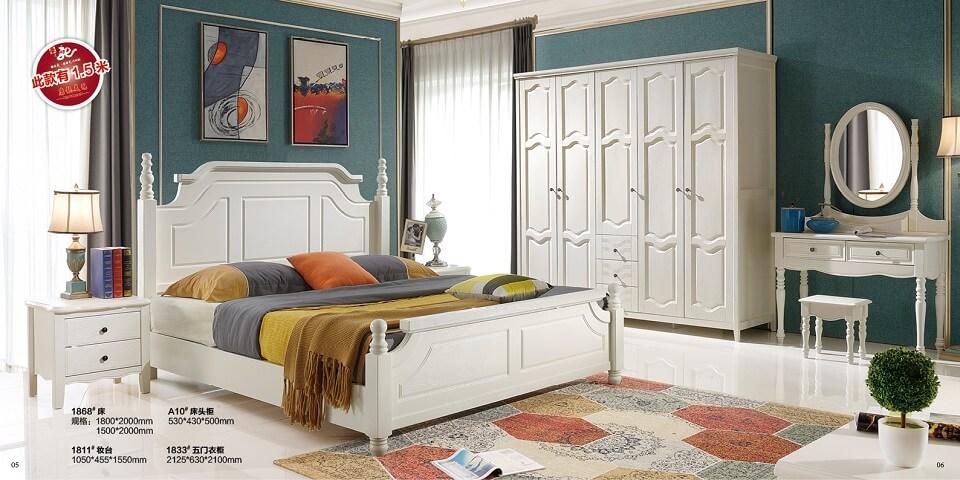 橡木压纹卧室套房优德88官方网APP02